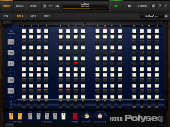 Korg iPolysix iPad Screenshot 2