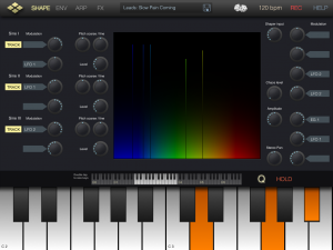 microTera — Waveshaping the iPad Synth World