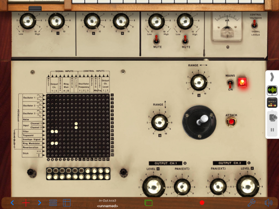 iVCS3 Screenshot with Audiobus