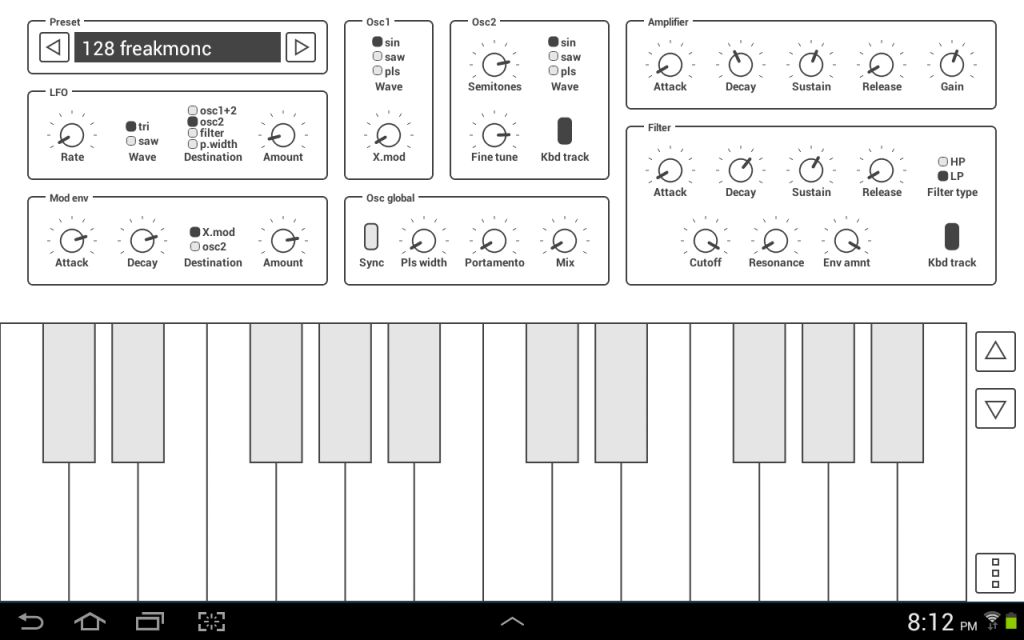 Common Analog Synth Screenshot