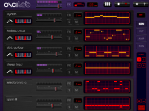 Oscilab provides a Great Introduction to Synthesis and Beatmaking