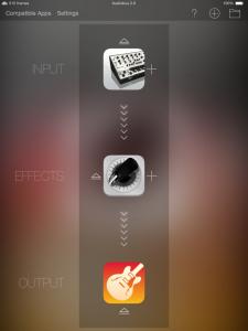 Audiobus Screenshot 1