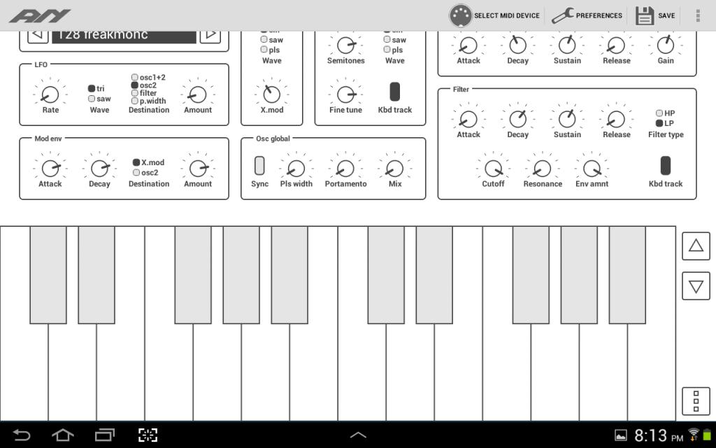 Common Analog Synth Screenshot 2