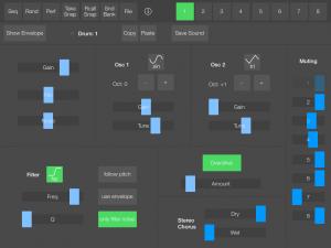 SeekBeats Sound Screen