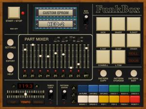 FunkBox Main Screen
