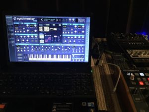 synthmaster one in the studio