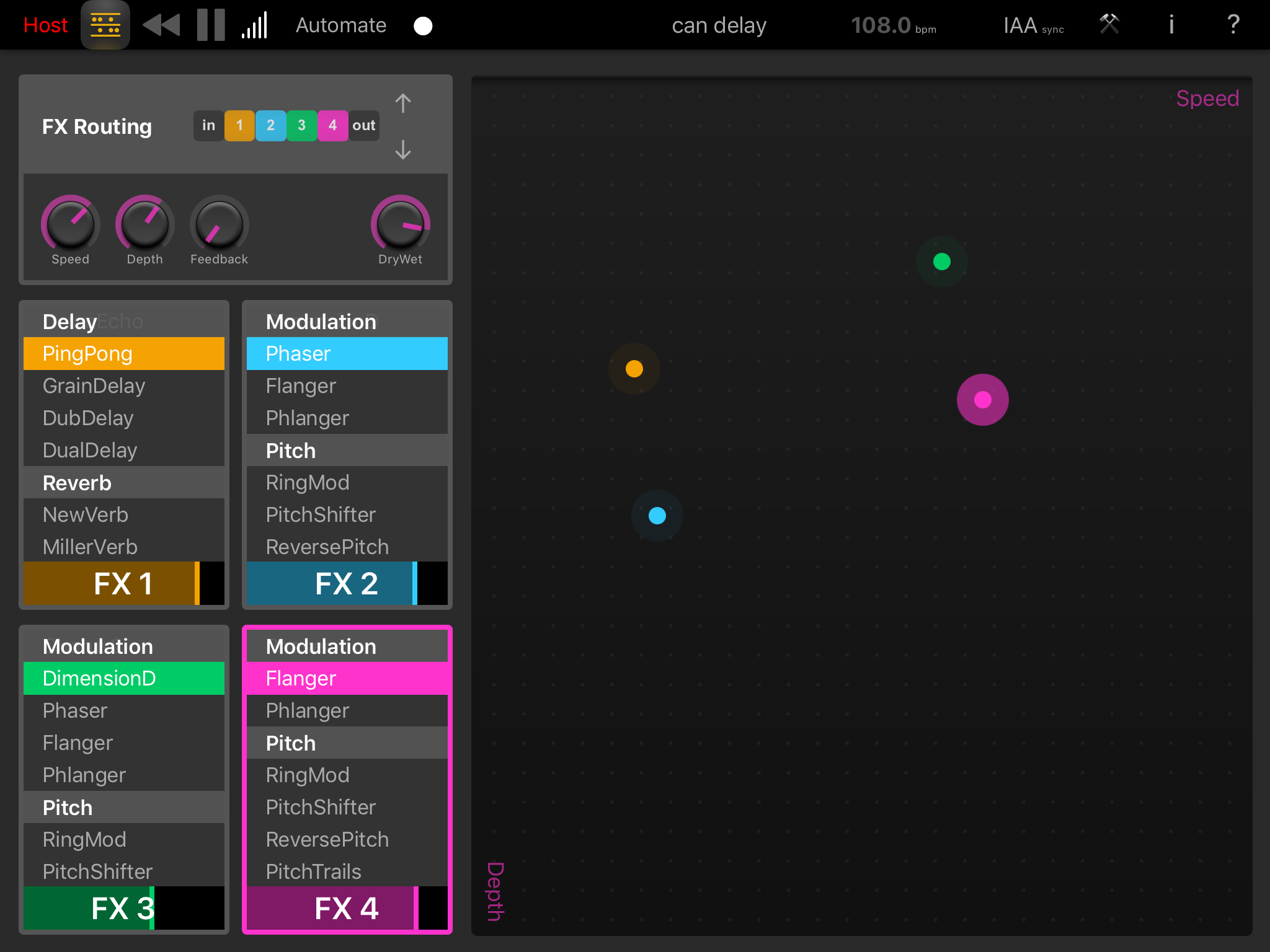 Elastic FX is an Intuitive Multi-effects Unit for iOS | TabMuse -- a